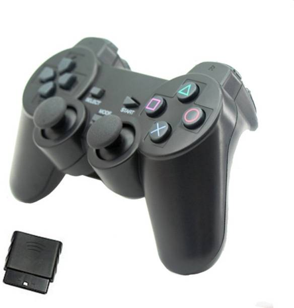 Clubics Wireless 3in1 Motion controller - All in one Controller (Black, For PS3, PS2, PC)  Motion Controller