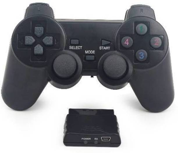 Clubics 3 in 1 controller - Wireless Controller (Black, For PS3, PS2, PC)  Motion Controller