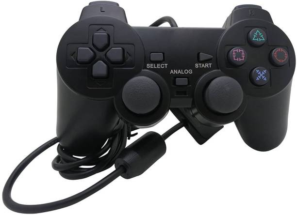 Clubics Wired PS2 Motion Controller (Black, For PS2)  Motion Controller