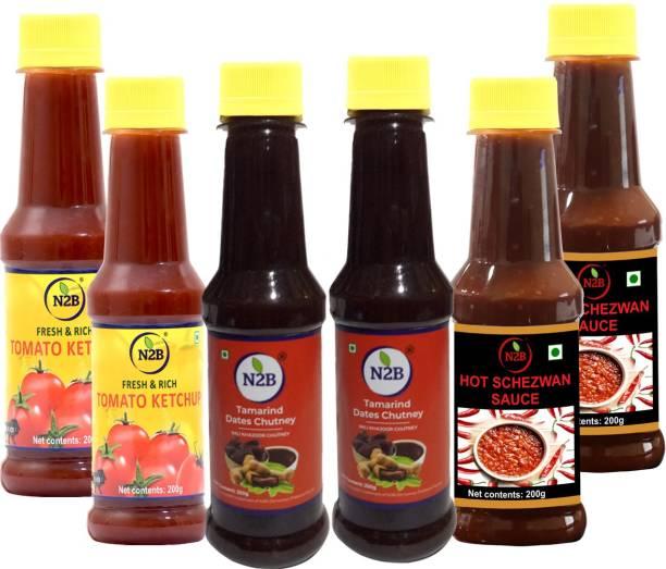N2B Combo of 6 Sauce
