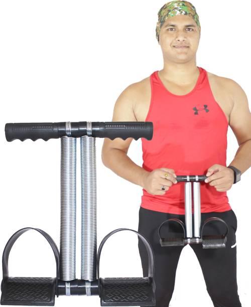 AJRO DEAL Double Spring Tummy Trimmer Abs Exerciser Body Toner Fat Buster (Black) Ab Exerciser