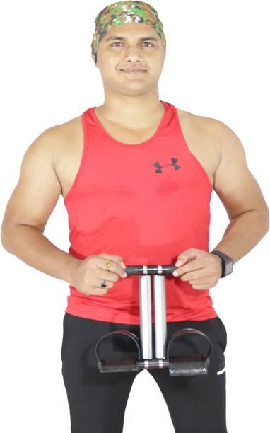 AJRO DEAL Double Spring Tummy Trimmer- Fitness Equipment Ab Exerciser (Black) Ab Exerciser