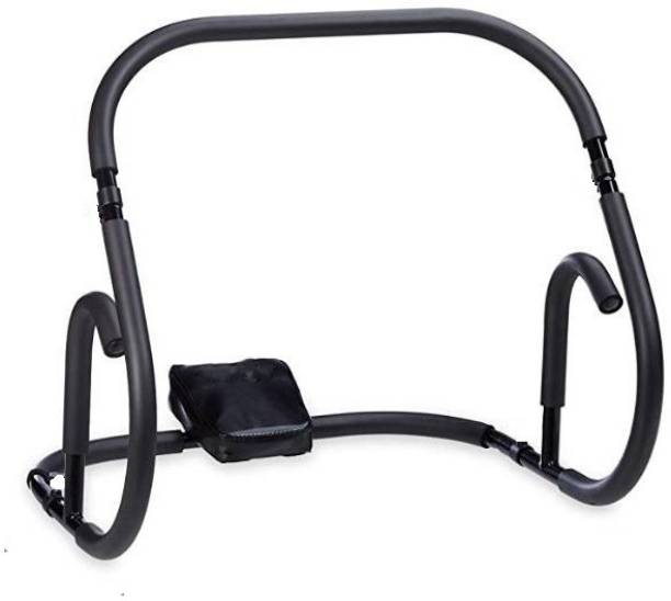 Allyson Fitness AB Cruncher Total Six Pack Abs Fitness Pump Roller Slider Tummy Trimmer(Black) Ab Exerciser