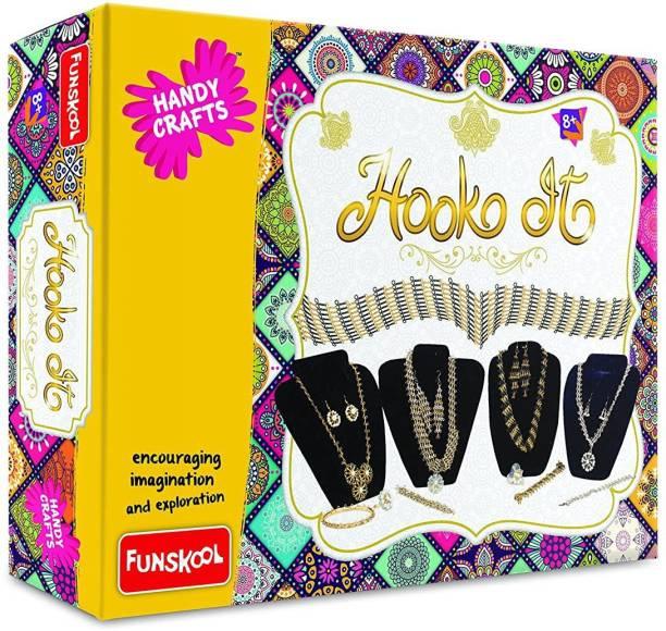 FUNSKOOL HOOK IT , CREATIVE, EDUCATIONAL GAME FOR GIRLS , GOOD FOR GIFT