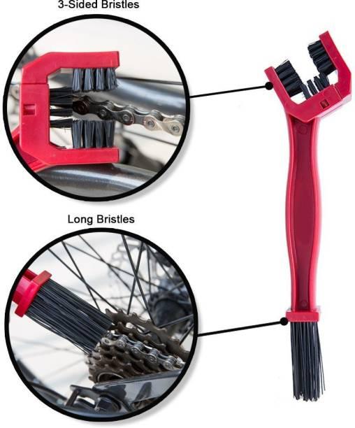 Ride Adventure Chain Clean Red 02 Bike Chain Clean Brush