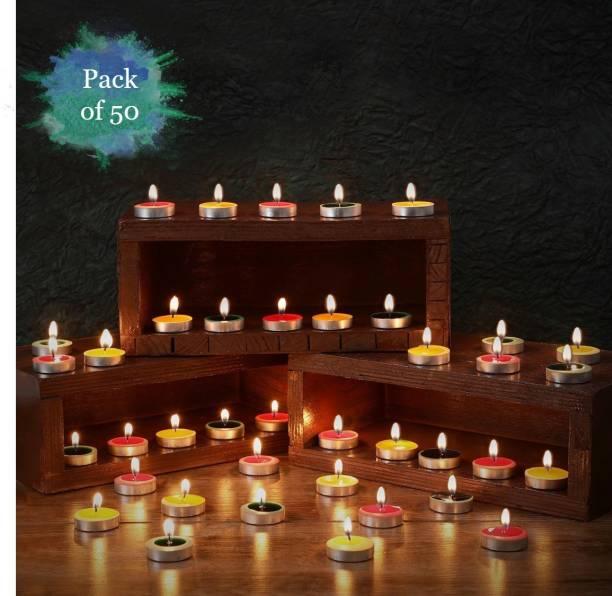 Flipkart SmartBuy 50 Pcs Multicolored Candle