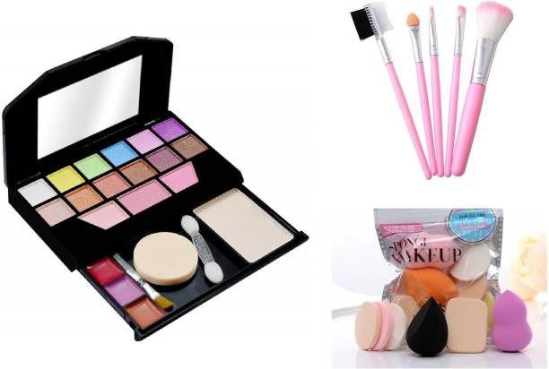 MY TYA Fashion Makeup Kit Mini + Me Now Blendor Puffs + Makeup Brushes