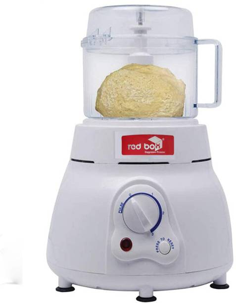 Redbox 350 W Electric Atta Kneader 3 in one with chopper and whipper Plastic Vertical Dough Maker