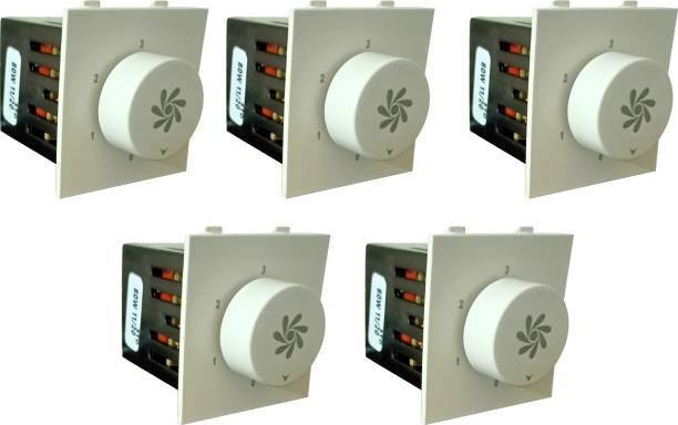 PRV SWITCH 5 STEP -5PC FAN REGULATOR Step-Type Button Regulator High speed -000-1t Conventional Box Regulator