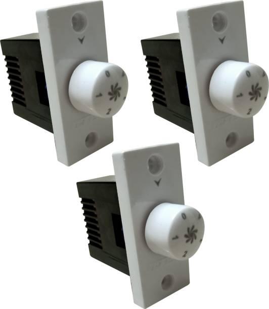 PRV SWITCH 5 STEP -3PC FAN REGULATOR Step-Type Button Regulator High speed -0000tg Conventional Box Regulator