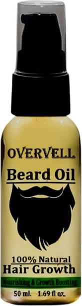 overvell Almond Beard Oil Hair Oil (50 ML) Hair Oil
