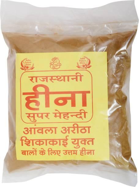 RAJASTHANI HEENA SUPER MEHANDI Asha Future Shine Heena Mahandi For Hair Growth