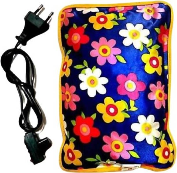 Suhani all in one Electric Heat Bag Hot Water Bottle Pouch Massager In Many Designs & Colors Electrical 1 L Hot Water Bag Electric 1 L Hot Water Bag