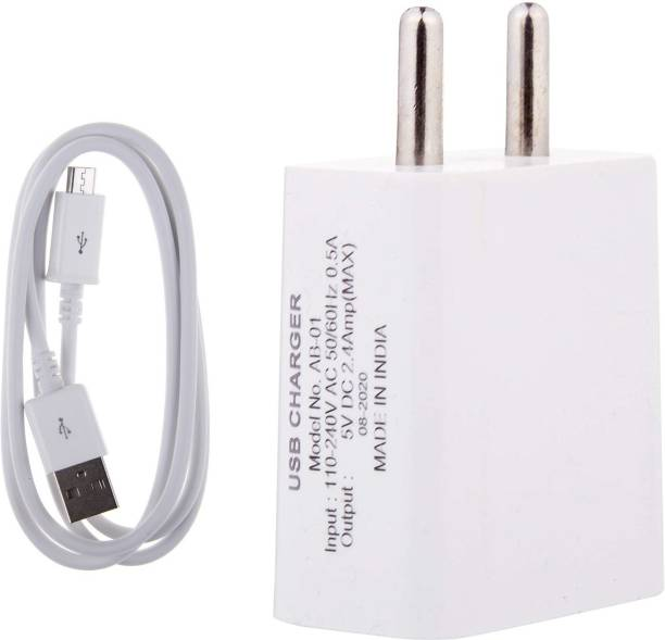 Wrapo Wall Charger Accessory Combo for Infinix Hot 9