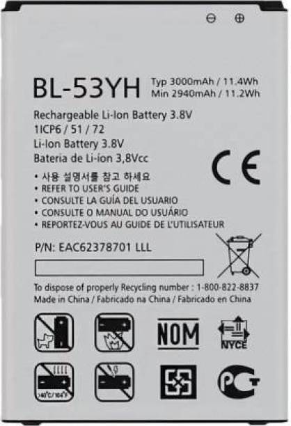 Jics Mobile Battery For  LG OPTIMUS G3 (QUALITY CHECKED)