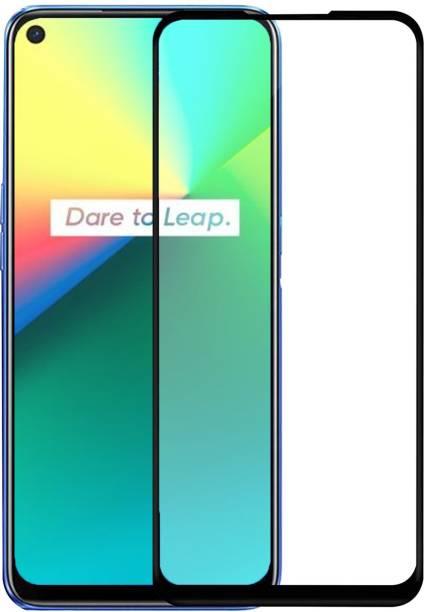 iZAP Edge To Edge Tempered Glass for Realme 7i, Realme 7, Realme C17, Oppo A52