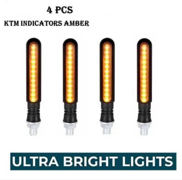 THE ONE CUSTOM Front, Side, Rear LED Indicator Light for Yamaha, KTM, Universal For Bike, Bajaj, Hero, TVS, Honda Universal For Bike