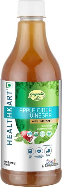 HEALTHKART Organic Apple Cider Vinegar, Unflavoured Vinegar