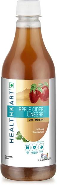 HEALTHKART Apple Cider Vinegar With Mother - Unflavored Vinegar