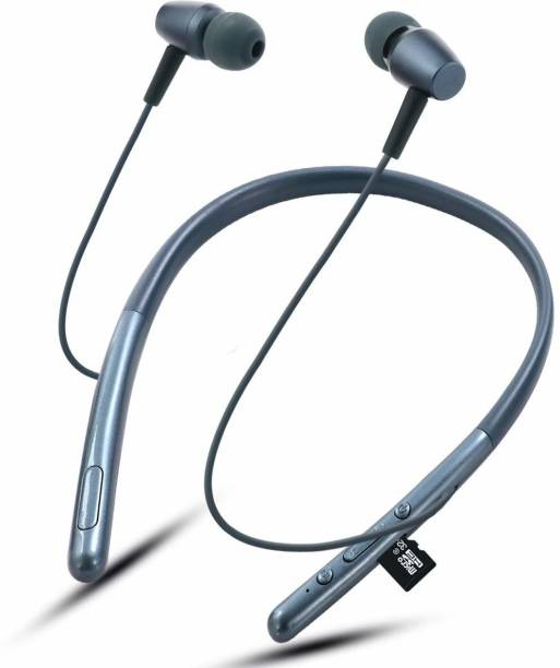 TECHFIRE HI Bass 2 Mobile Connectivity Neckband Wireless Bluetooth Bluetooth Headset