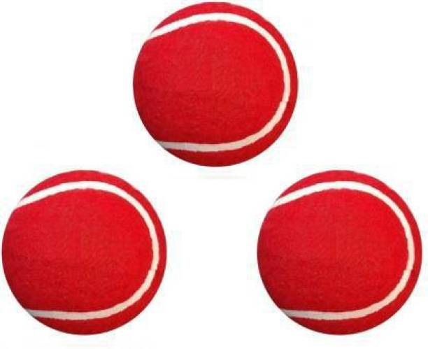Swami Red Cricket Tennis Ball (Pack of 3 ) Cricket Tennis Ball