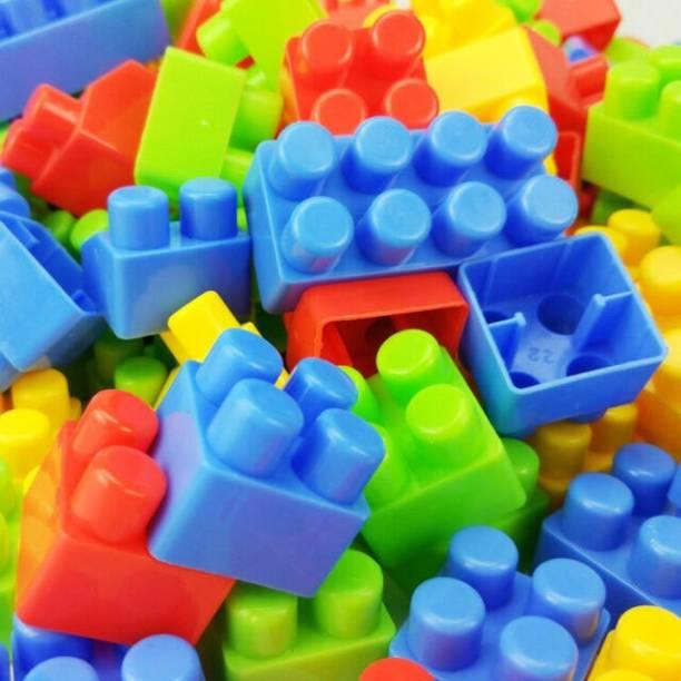 kluzie 100/PCS Big Size DIY Building Blocks Compatible Creative Bricks Construction Blocks Accessories Educational Toy Learning Toy For Children