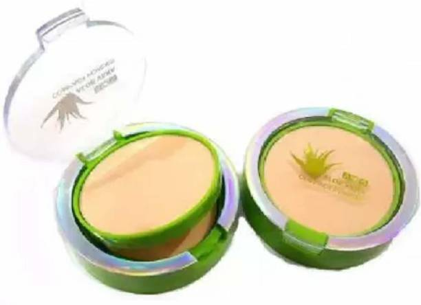 ads Aloe Vera Compact Powder Compact (Beige, 100 g) Compact