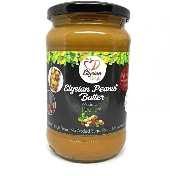 hazelate Elysian Peanut Butter   Creamy   Unsweetened & Unsalted   Preservative Free 720 g