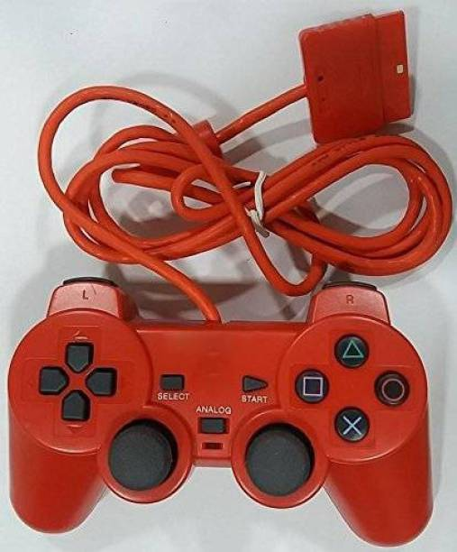 Clubics PS2 Controller Wired Controller Red Colour (For PS2)  Motion Controller