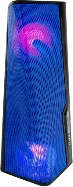 FPX Twist Wireless Speaker with RGB Lights, Dual Pairing, Loud Booming Bass and 6 hrs Playtime 5 W Bluetooth Speaker