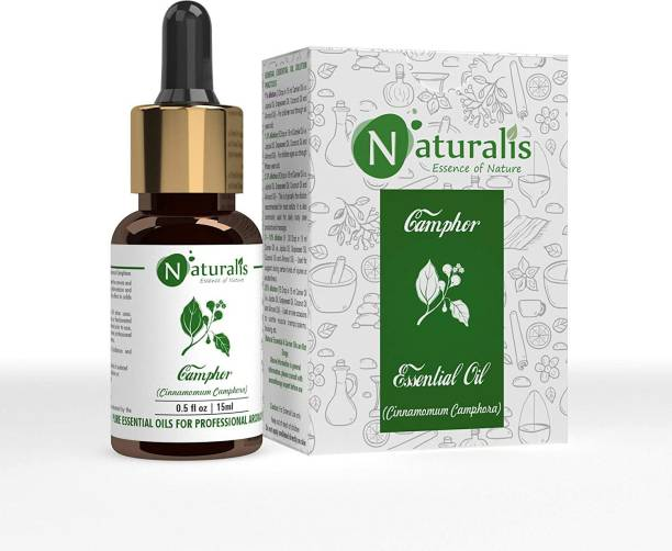 Naturalis Essence of Nature Camphor Essential Oil for Skin & Hair Care