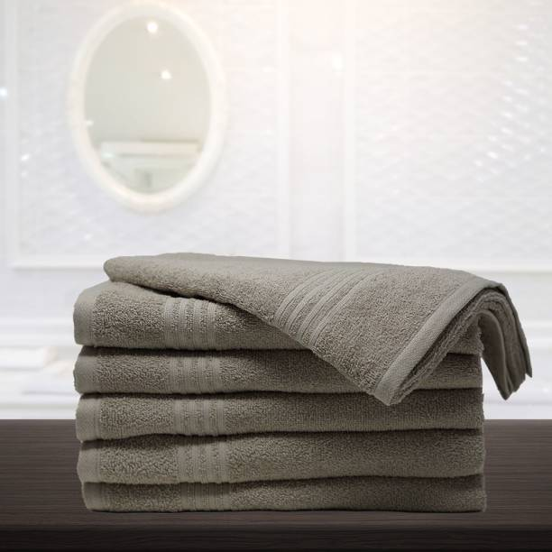 TRIDENT Cotton 380 GSM Bath Towel Set