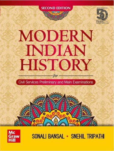 Modern Indian History-Second Edition|For Civil Services Preliminary and Main Examinations