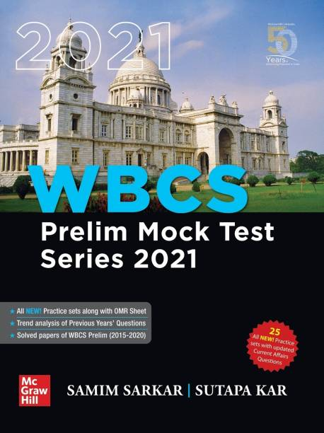 Wbcs Prelim Mock Test Series 2021 for West Bengal State Civil Services Preliminary Examinations and Other State Examinations