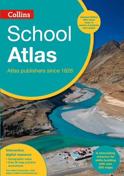 Collins School Atlas- Updated Edition 2021