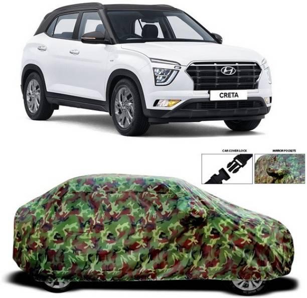 Duffel Car Cover For Hyundai Creta 2020 (With Mirror Pockets)