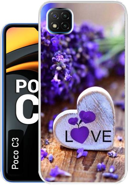 Case Club Back Cover for Poco C3