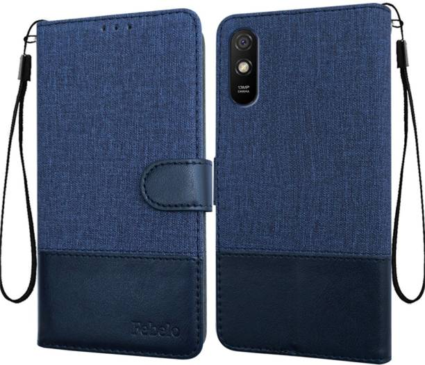 Febelo Flip Cover for Mi Redmi 9A, Mi Redmi 9i