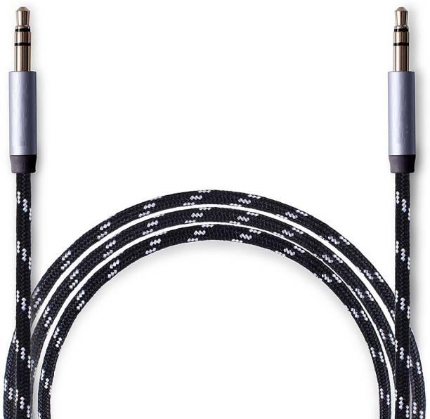 RRHR SALES Aux Cable 1 M Nylon braided AUX Cable Multi color 1 m AUX Cable