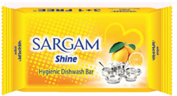 Sargam Shine Hygienic Dishwash Bar (100 Gram) - Pack of 1 Dishwash Bar