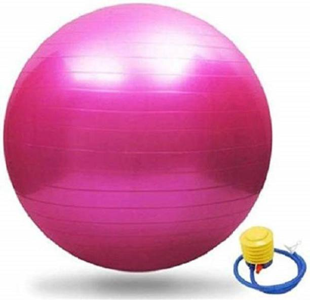 Giffy 75 cm Gym Ball Fitness Exercise Gymnastic Ball Anti Burst and Slip Resistance Gym Ball