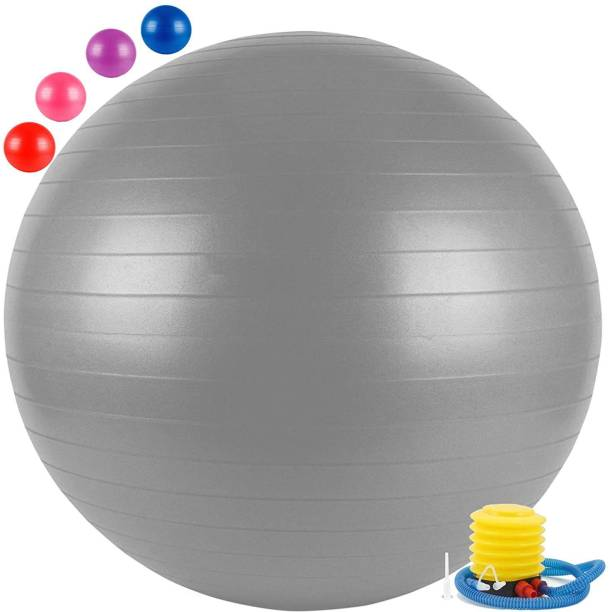 Giffy Anti-Burst Exercise Gym Ball 75cm, Balance Stability, Fitness Yoga Ball Gym Ball