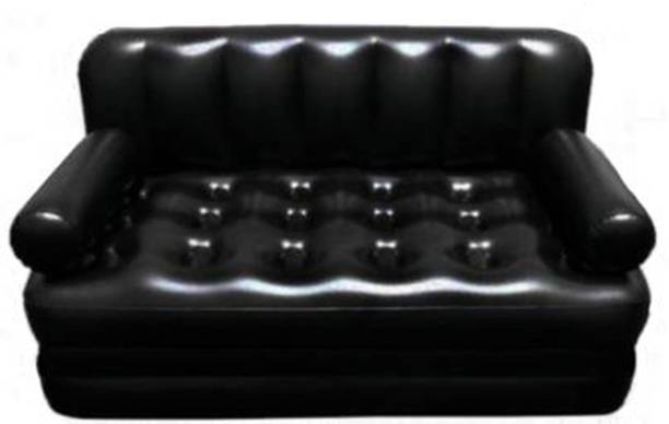 YUXI 5 in 1 Sofa Cum Bed PVC 3 Seater Inflatable Sofa