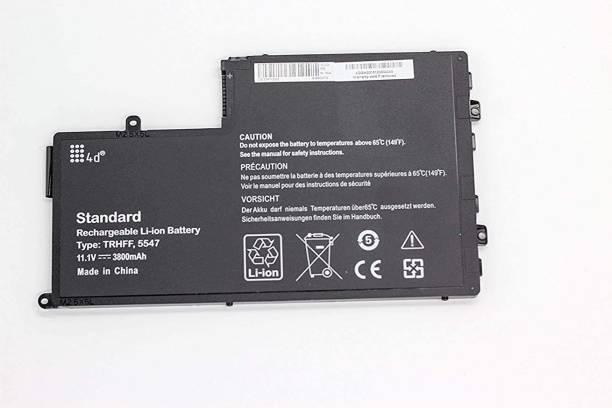 TravisLappy Laptop Battery For TRHFF 9JF93 1JD62 451-BBLO Inspiron 14 5442 5447 5448 Inspiron 15 5547 5548 5545 Latitude 3550 3450 6 Cell Laptop Battery