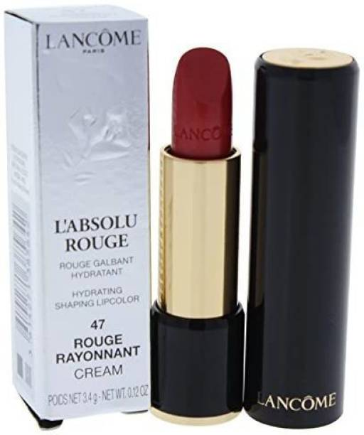 LANCOME L'absolu Rouge Hydrating Shaping Lipcolor, Rouge Rayonnant, 0.12 Ounce