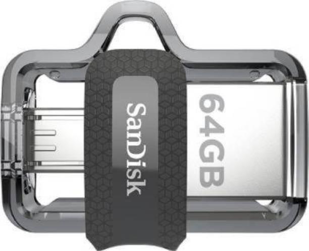 SanDisk Ultra Dual Drive M3.0 64 OTG Drive 64 GB Pen Drive