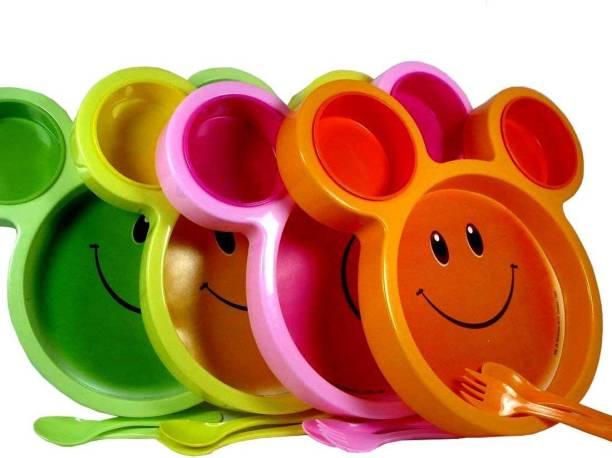 ARVANA Cute Fancy mickey plates Kids Birthday Return Gift Party Set of 6 Dinner Plate
