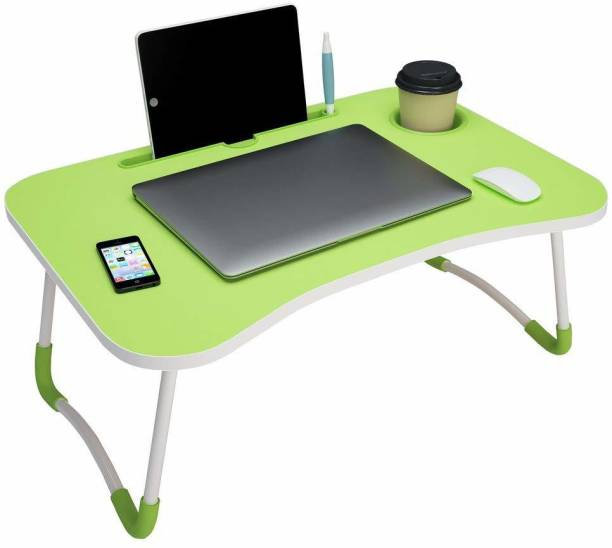 Young wolf Green Laptop Table Wood Portable Laptop Table