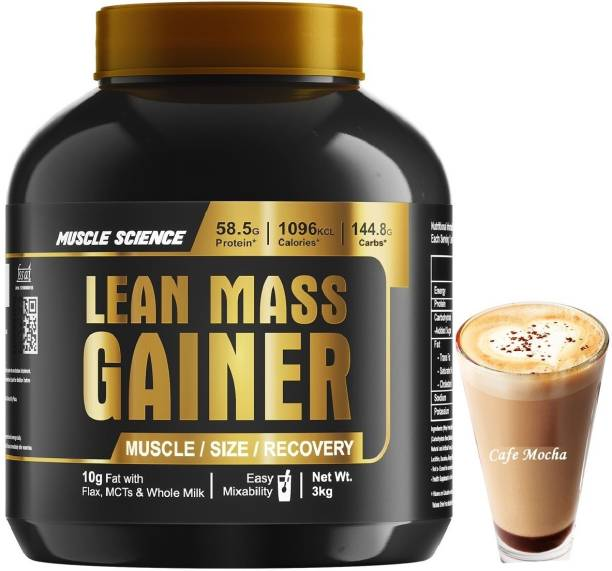 Muscle Science Lean Mass Gainer Weight Gainers/Mass Gainers