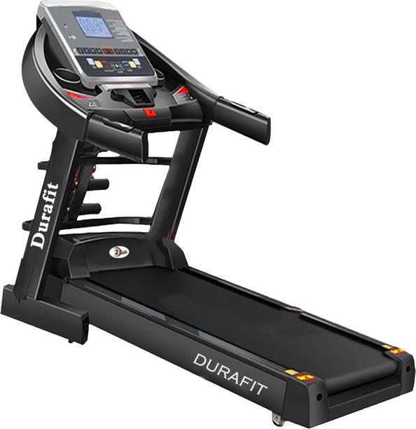 Durafit Panther Multifunction 2.75 HP (Peak 5.5 HP) DC Motorized Treadmill